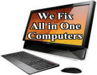 We Fix    All in One    Computers